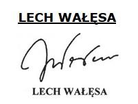 podpis Lecha Wałęsy